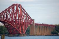 The unmistakable silhouette of 60103 heading north over the Forth Bridge on 15 May.<br><br>[Bill Roberton&nbsp;15/05/2016]