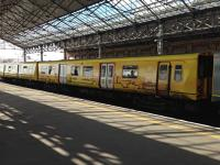 Yellow Merseyrail livery train at Southport.<br><br>[Veronica Clibbery&nbsp;//]