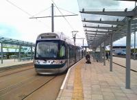 Another new tram terminus served by Nottingham Express Transit [see image 54967] is Clifton South, opened in the autumn of 2015.<br><br>[Ken Strachan&nbsp;23/04/2016]