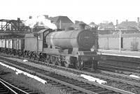 Locally based class O4 2-8-0 63613 runs south through Doncaster on 31 May 1963 with a freight.<br><br>[K A Gray&nbsp;31/05/1963]