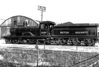 Rail Photo LNER GNSR Urquhart station Moray calcots garmouth
