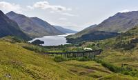 Loch Sheil,Glenfinnan Viaduct and the afternoon Jacobite heading for Mallaig, hauled by Black 5 No. 45407.<br><br>[John Gray&nbsp;25/05/2016]