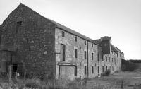 Pitlessie Maltings, terminus of a branch off the Cults Limeworks Railway, in 1992 shortly before conversion to flats.  The siding and loop were located to the right.<br><br>[Bill Roberton&nbsp;//1992]