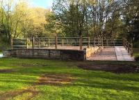 The cattle dock at Tetbury is now restored - or perhaps 're-imagined' would be more appropriate see image [[53903]]. Still, let's not bifurcate rabbits...<br><br>[Ken Strachan 30/04/2016]