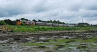 66733 approaches Cardross from the east with the Royal Scotsman. 66746 is out of sight on the rear.<br><br>[Ewan Crawford&nbsp;17/06/2016]