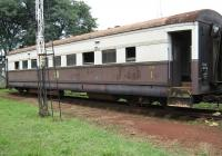 A 1st class coach on display at the Kenya Railway Museum in Nairobi.<br><br>[Alistair MacKenzie&nbsp;07/03/2014]