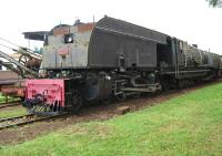 East African Railways No 5390 at the museum in Nairobi, now in retirement.<br><br>[Alistair MacKenzie&nbsp;//]
