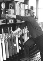Scene inside Quintinshill signal box on 1 July 1972.<br><br>[Dougie Squance (Courtesy Bruce McCartney)&nbsp;01/07/1972]