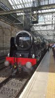 Royal Scot at Waverley bound for the Borders on the 7th of August.<br><br>[John Yellowlees&nbsp;07/08/2016]