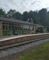 This award-winning restored station is currently not served pending completion of a platform extension to give an acceptable stepping distance. Also there is currently no service between Leeming Bar and Northallerton owing it seems to flood damage.<br><br>[John Yellowlees&nbsp;23/07/2016]