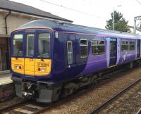 319374 in Northern livery at Huyton on 5 August 2016.<br><br>[Veronica Clibbery&nbsp;05/08/2016]