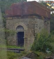 The unused watertank at Altnabreac, on the disused down platform, is a remarkable survivor.<br><br>[John Yellowlees&nbsp;03/07/2016]