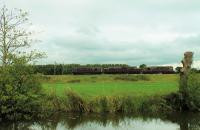 <I>Very unexpected</I>. West Coast Railway's BRCW Type 3 33207 <I>Jim Martin</I> takes 37685 <I>Loch Arkaig</I> and 33025 on a movement from Southall to Carnforth on 5th September 2016. This may be part of the clear out from Southall following Network Rail's termination of the lease on that depot. The convoy is seen running alongside the Lancaster Canal at Brock on the final leg of the journey.  <br><br>[Mark Bartlett&nbsp;05/09/2016]