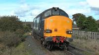 37610 coming round the curve (on the re-aligned Kilmarnock and Troon) at Barassie Junction.<br><br>[Ken Browne&nbsp;23/09/2016]