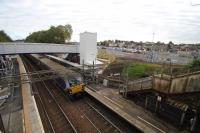 Blairhill has undergone a transformation in recent times. A new overbridge,lifts and entrance from the new car park. 8/10/16. Looks like it won't be long till operational. Not sure whether the existing stairs and ticket office will survive.<br><br>[Alastair McLellan&nbsp;08/10/2016]