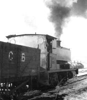 Shunting in the snow alongside Dunaskin washery in December 1971. <br><br>[John Furnevel&nbsp;01/12/1971]