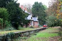 The station building at Wykeham is still in use by Dawnay Estates as their estate office. The westbound platform was still clearly visible during this visit on 20 October 2009 whilst walking along a footpath that led to a caravan park to the right.<br><br>[John McIntyre&nbsp;20/10/2009]