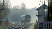 A misty morning at Brundall Junction in 2012.<br><br>[Ian Dinmore&nbsp;12/11/2012]