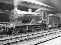 Reid D29 'Scott' class 4-4-0 no 9359 <I>Dirk Hatteraick</I> with a train at Waverley in the 1930s. Built at Cowlairs in 1911, the locomotive was renumbered 62412 in 1948 and survived in service for a further two years until withdrawal from Dundee Tay Bridge in September 1950.  <br><br>[Dougie Squance (Courtesy Bruce McCartney)&nbsp;//]