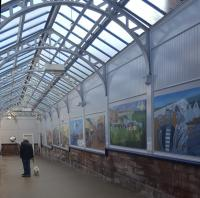 New Port Glasgow murals funded by ScotRail and Riverside Inverclyde.<br><br>[John Yellowlees&nbsp;25/10/2016]