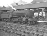 Gresley K3 2-6-0 no 61859 standing at Doncaster on 8 July 1961 with the 4.54pm train to March.<br><br>[K A Gray&nbsp;08/07/1961]