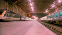View looking out from the end of the line at Penzance from inside the trainshed in 2002.<br><br>[Ewan Crawford&nbsp;//2002]