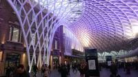 Kings Cross on Sunday 20th November just after 8am. Whilst I was waiting for the 9:45 Virgin East Coast to Aberdeen I had the biggest ever Pain au chocolat from a<br> Patisserie on the Mezzanine level!<br><br>[Alan Cormack&nbsp;20/11/2016]