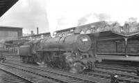 Britannia Pacific 70022 <I>Tornado</I> at Carlisle in the summer of 1963.<br><br>[K A Gray&nbsp;24/08/1963]