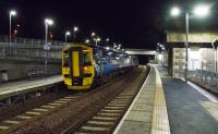 An Edinburgh bound services skips north through Stow without stopping.<br><br>[Ewan Crawford&nbsp;27/12/2016]