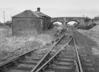 Dereliction at Smeaton in 1981, three years after closure of Dalkeith washer and the end of traffic.<br><br>[Bill Roberton&nbsp;//1981]