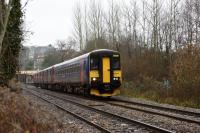 153377 passing through Bradford-on-Avon at 1355 hours.<br><br>[Peter Todd&nbsp;10/12/2016]