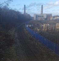 Rusty rails. The Powderhall waste transfer station is now out of action.<br><br>[John Yellowlees&nbsp;03/02/2017]