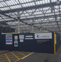 Capacity improvements at Waverley; work is starting on lengthening Platforms 5 and 6 at Waverley to handle the Virgin Azumas.<br><br>[John Yellowlees&nbsp;28/01/2017]