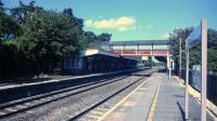Kemble railway station looking north on the 30th of August 2016. The engineer's siding off to the right is the remainder of the line to Cirencester. To the left, beyond the building, was the branch to Tetbury.<br><br>[Alan Cormack&nbsp;30/08/2016]