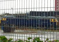 Caught a quick shot of one of the recently acquired ROG class 47's through the fence at Tesco this morning. Looks rather forlorn but at least some company for the old 08 shunter named after the works! [See image 50126]<br><br>[Martin MacGuire&nbsp;11/02/2017]