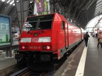 Train for Bamberg at Frankfurt Hauptbahnhof.<br><br>[Veronica Clibbery&nbsp;/09/2016]