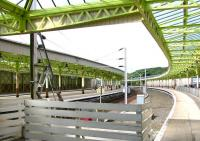 Looking out from the station concourse, Wemyss Bay, July 2005.<br><br>[John Furnevel&nbsp;/07/2005]