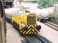 A Sentinel diesel shunter [see image 24631] at Hope, seen during a 2005 Open Day.<br><br>[Ken Strachan&nbsp;17/09/2005]