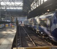 Platform 12 is now out of use at Waverley for lengthening.<br><br>[John Yellowlees&nbsp;02/03/2017]