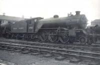 Gresley V4 2-6-2 61700 <I>Bantam Cock</I> standing in the shed yard at Eastfield on 6 May 1950.  <br><br>[G H Robin collection by courtesy of the Mitchell Library, Glasgow&nbsp;06/05/1950]