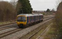 166 209 is a rare sight in these parts, the 160's tend not to go past Didcot. Perhaps it was heading for one of the local wheel lathes such as Bristol St. Phillips Marsh or Cardiff.<br><br>[Peter Todd&nbsp;01/03/2017]