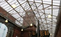 The station roof at Nottingham following the 2015 refurbishment.<br><br>[Ian Dinmore&nbsp;//2016]