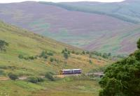 A train on the Far North Line between Rogart and Lairg in the summer of 2006. [Ref query 938] <br><br>[John Furnevel&nbsp;29/08/2006]