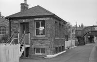 Given the activity around Aberdour signal box recently I thought this might be of interest. This is the view looking west while the signal box was still in use.<br><br>[Bill Roberton //1977]