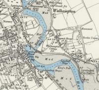 An extract from a pre WWI OS 6 inch map showing the railway layout at Lymington. Comparison with the present day shows little difference although a marina has been constructed on the mud flats opposite the Pier station and a large car park at the Pier itself. [See image 47483]. Reproduced with the permission of the National Library of Scotland http://maps.nls.uk/index.html<br><br>[Mark Bartlett&nbsp;//1913]