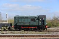 Class 08 No 604 'Phantom'. The Didcot Rly. Centre's shed shunter.<br><br>[Peter Todd 15/03/2017]