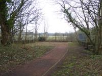 Journey's end for those following the Bothwell Nature Trail at the north approach to the former Craighead Viaduct.<br><br>[Colin McDonald&nbsp;15/03/2017]
