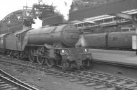 St Margarets based V2 2-6-2 60980 about to head for home from Newcastle Central in 1960.<br><br>[K A Gray&nbsp;//1960]