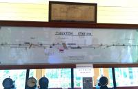 Diagram inside Thuxton signal box, Norfolk, June 2016.<br><br>[Ian Dinmore&nbsp;25/05/2016]