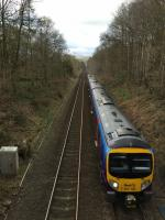 A 185 heading for Grindleford after leaving Haversage.<br> <br> <br><br>[Bruce McCartney&nbsp;01/04/2017]
